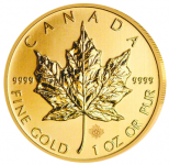 Maple Leaf 1 Unze Gold