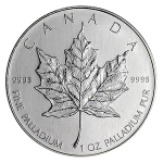 Maple Leaf 1 Unze Palladium